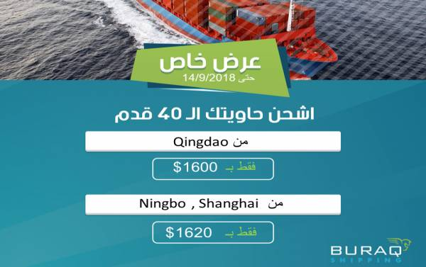 Spot Rates from Qingdao, Ningbo, and Shanghai